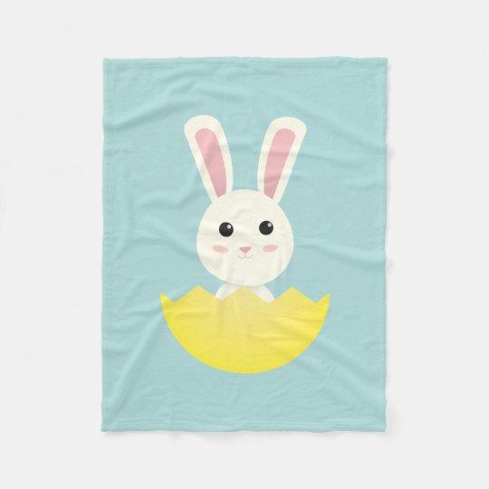 The Easter Bunny I Fleece Blanket