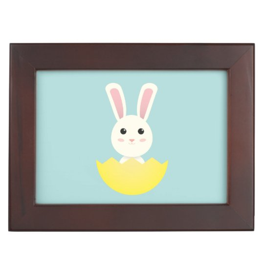 The Easter Bunny I Keepsake Box