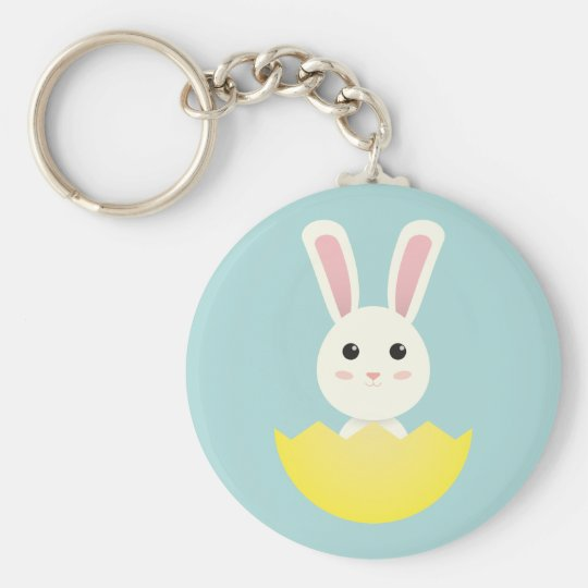 The Easter Bunny I Key Ring