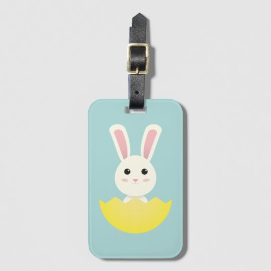 The Easter Bunny I Luggage Tag