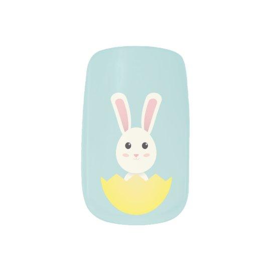 The Easter Bunny I Minx Nail Art