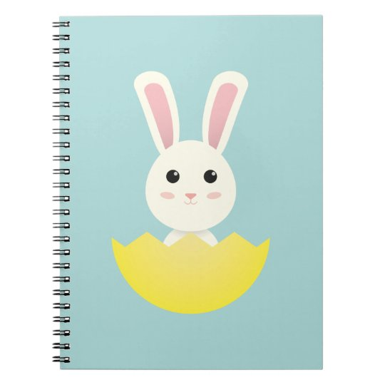 The Easter Bunny I Notebook