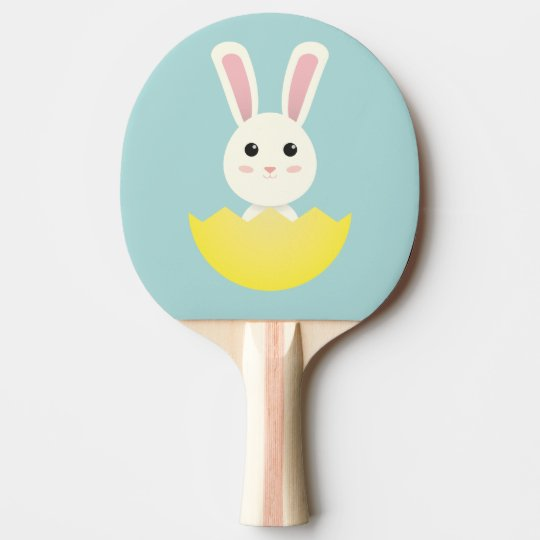 The Easter Bunny I Ping Pong Paddle
