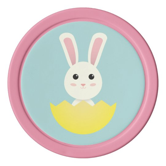 The Easter Bunny I Poker Chips