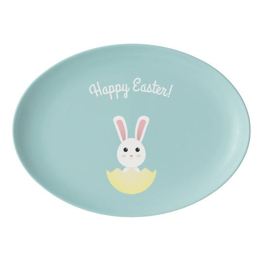 The Easter Bunny I Porcelain Serving Platter