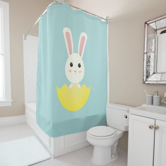 The Easter Bunny I Shower Curtain