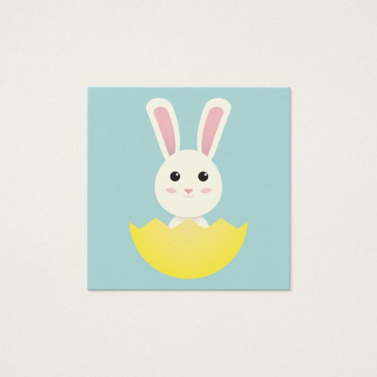 The Easter Bunny I Square Business Card
