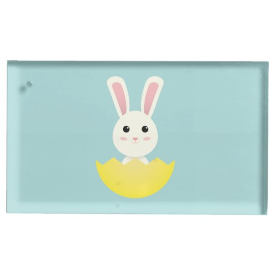 The Easter Bunny I Table Card Holder