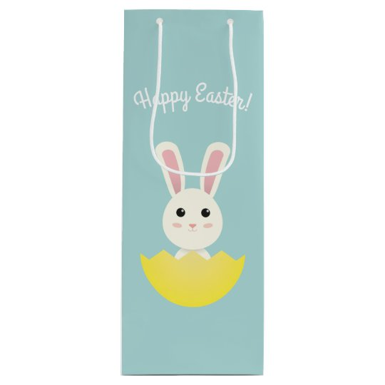 The Easter Bunny I Wine Gift Bag