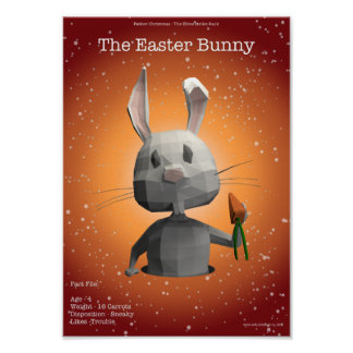 The Easter Bunny Poster