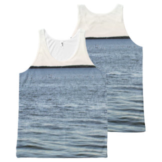 The Edge Of The Everglades All-Over Print Singlet