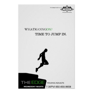 "The Edge Poster ""Jump"""