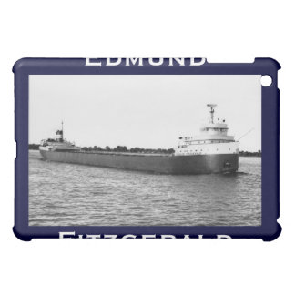 The Edmund Fitzgerald on the St. Clair River Case For The iPad Mini