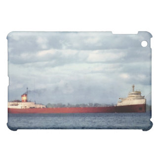 The Edmund Fitzgerald on the St. Clair River iPad Mini Covers