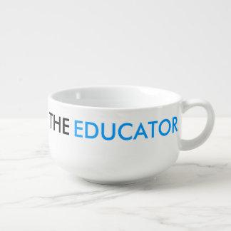 The Educator School Teacher Smart Blue Soup Mug