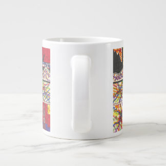 The Effortlessness Of Mind Travel Large Coffee Mug