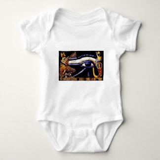 The Egyptian Eye of Horus Baby Bodysuit