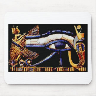 The Egyptian Eye of Horus Mouse Pad