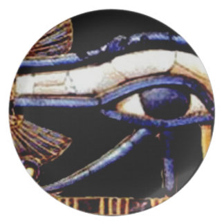 The Egyptian Eye of Horus Plate
