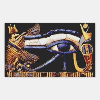 The Egyptian Eye of Horus Rectangular Sticker