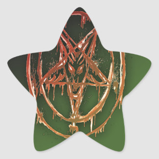 The Egyptian Symbol Of Good Luck Star Stickers