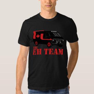the eh team - all hail canada tshirts