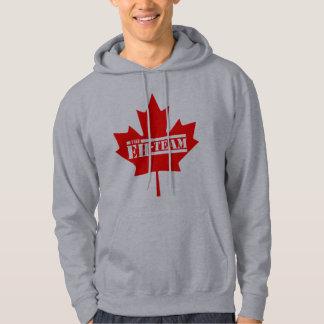 The Eh Team Canada Maple Leaf Hoodie