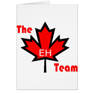 the eh team card