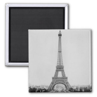 The Eiffel Tower 2 Square Magnet