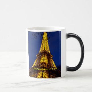 The_Eiffel_Tower_at_night, Honeymoon in Paris Magic Mug
