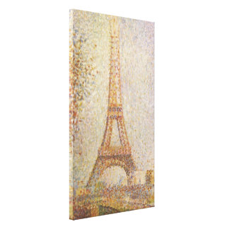 The Eiffel Tower by Georges Seurat Canvas Print
