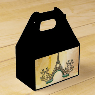 The Eiffel Tower Favour Box