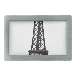 The Eiffel Tower (Live) Rectangular Belt Buckle