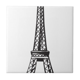 The Eiffel Tower (Live) Small Square Tile