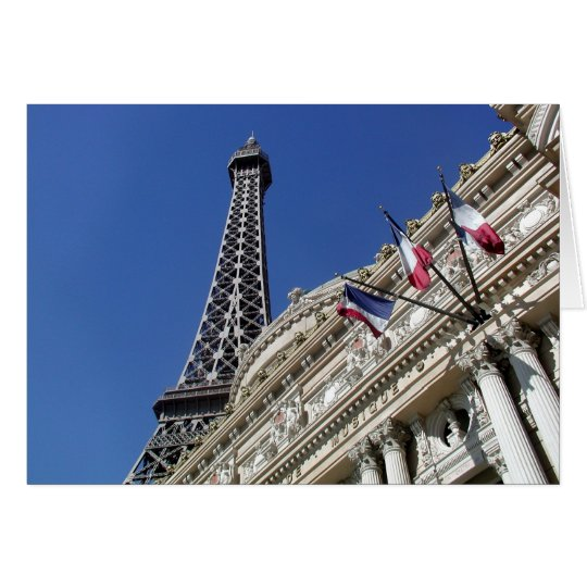 The Eiffel Tower, Paris Card