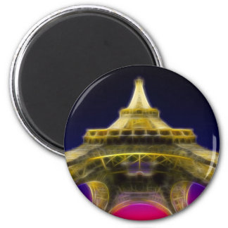 The Eiffel Tower, Paris, France Magnet