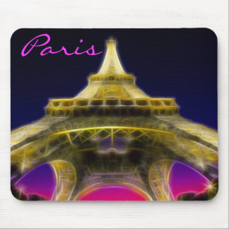 The Eiffel Tower, Paris, France Mouse Pad