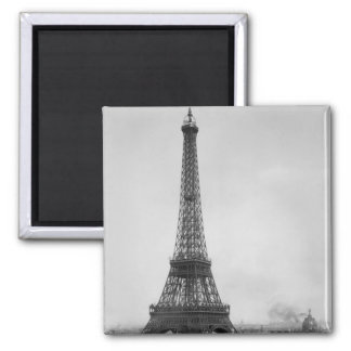 The Eiffel Tower Square Magnet