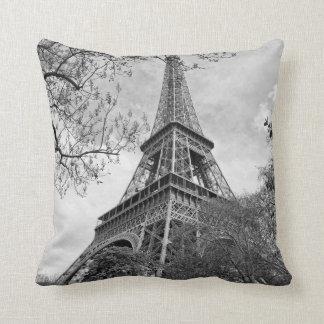 the Eiffel tower Throw Cushion
