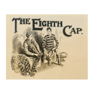 The Eighth Cap - Rugby Wood Wall Art Wood Print