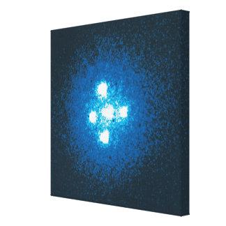 The Einstein Cross Stretched Canvas Prints