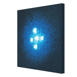 The Einstein Cross Canvas Print