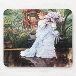 The elder Strauss by James Tissot Mouse Pad