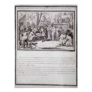 The Election of the Militia Poster