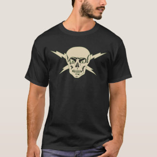 The Electric Skull Retro T-Shirt