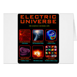 The Electric Universe Greeting Card