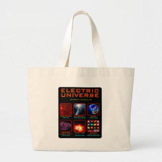 The Electric Universe Jumbo Tote Bag