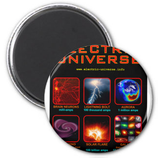 The Electric Universe 6 Cm Round Magnet