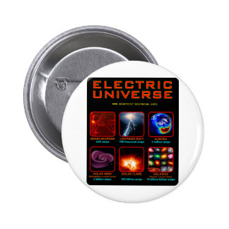 The Electric Universe Pinback Buttons