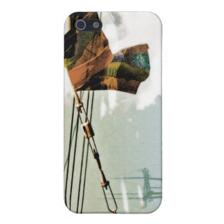 The Electrik Flagg brown/blue/grey iPhone 5 Cases